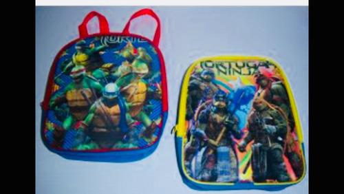 mochila dulcera tortugas ninja fiesta bolo