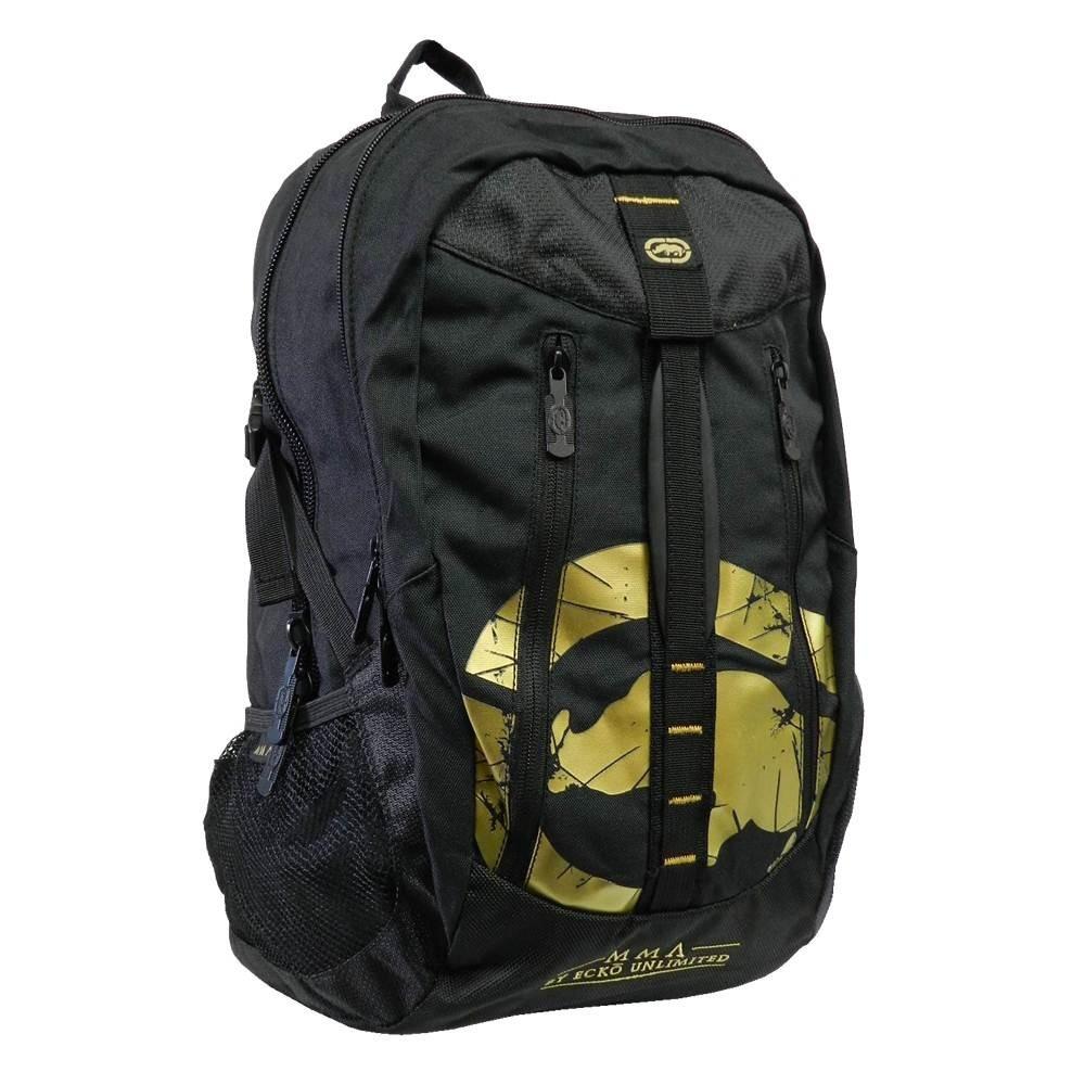 c17044e905d mochila ecko mma mountain emou16003 notebook preta dourado. Carregando zoom.