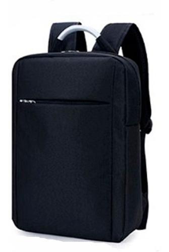 mochila ejecutiva negra y gris