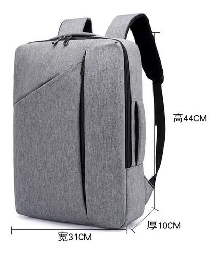 mochila elegante de hombres para notebook colores varios