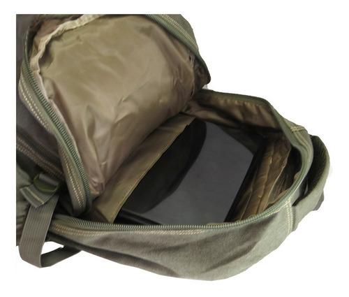 mochila em lona 50 l masculina feminina viagem acampamento