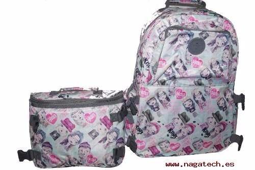 mochila escolar 47st street cartera