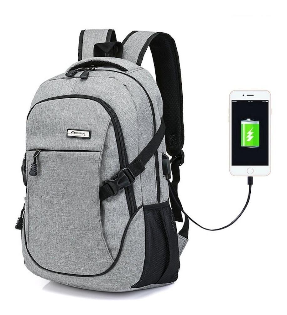 f5c2a10af0 mochila escolar com usb moderna masculina feminina 30l. Carregando zoom.
