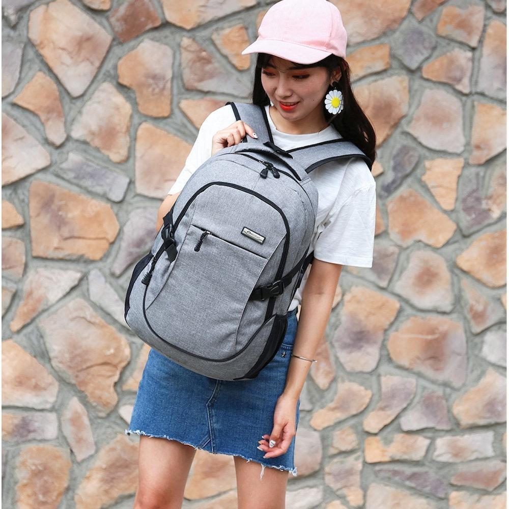 31d8f5cf2 mochila escolar com usb moderna masculina feminina 30l. Carregando zoom.