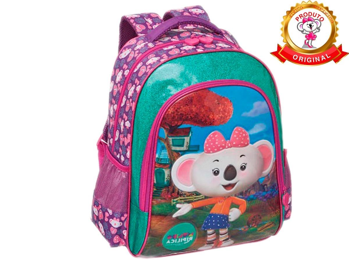 1070bbba20307 mochila escolar costas lilica ripilica mundo ripilica 2019. Carregando zoom.