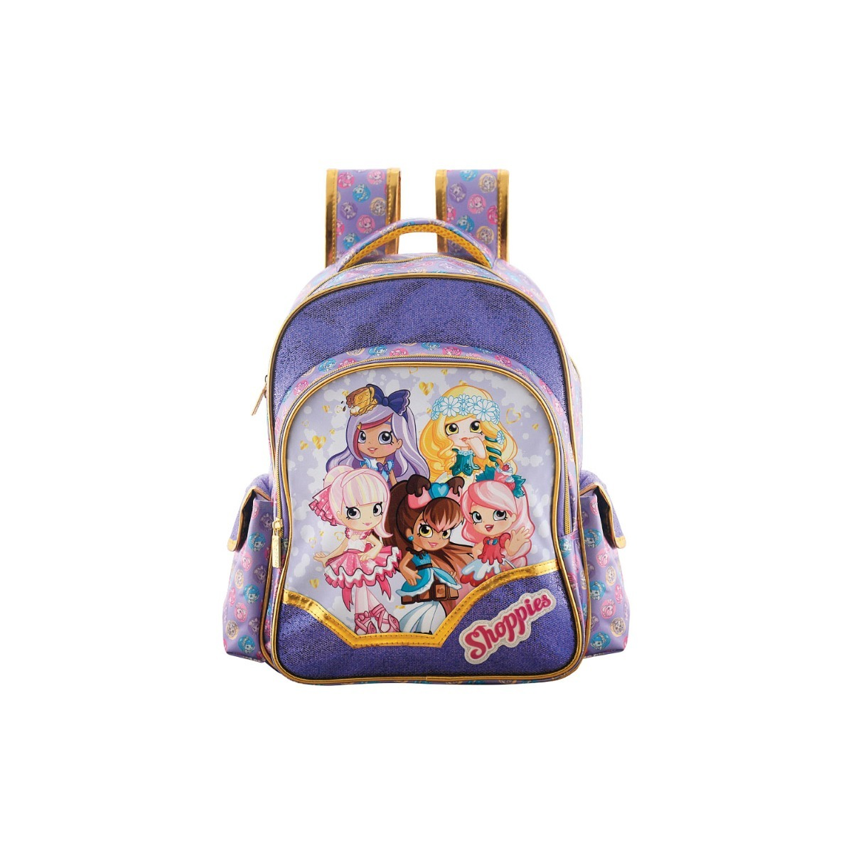59526890c Mochila Escolar Costas Shopkins Shoppies Media Xeryus - R$ 185,78 em ...