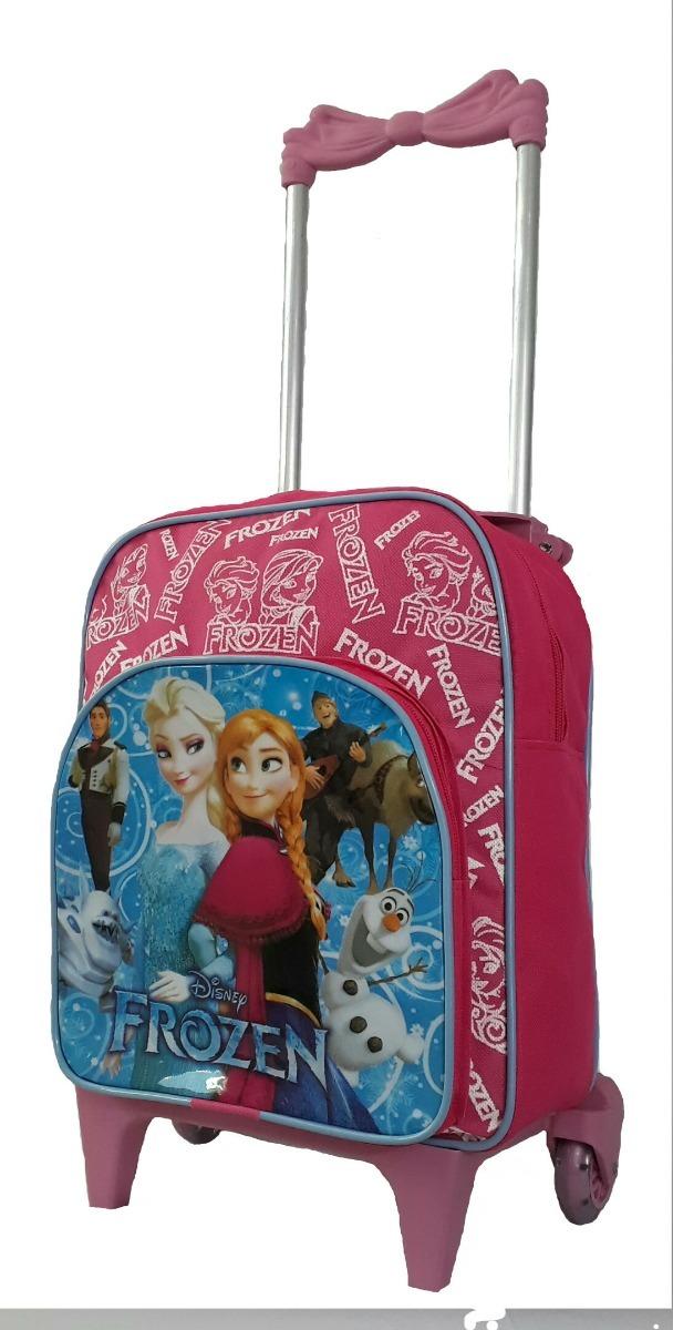 5cdf6e090 mochila escolar creche infantil frozen rodinha rosa promoção. Carregando  zoom.