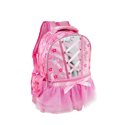 mochila escolar de costas infantil feminina princesas