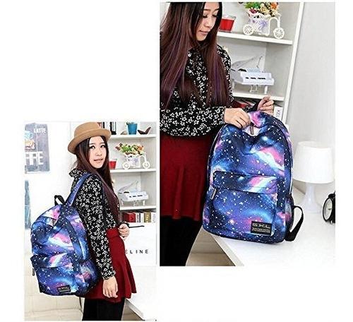 mochila escolar de la galaxia, mochila escolar de skl estudi