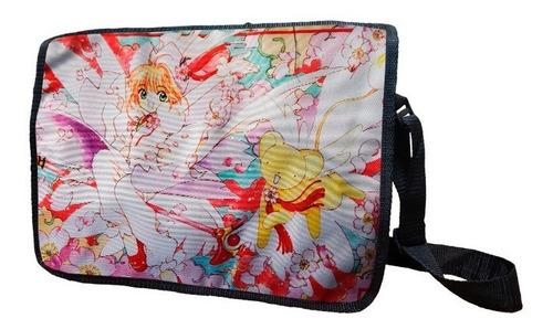 mochila escolar de portafolio sakura kero