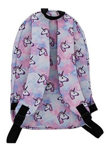 mochila escolar de unicornio / bolsa de almuerzo / estuche 3