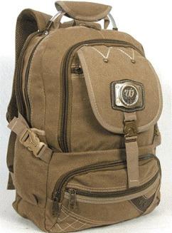 mochila escolar em lona 35l notebook masculina feminina