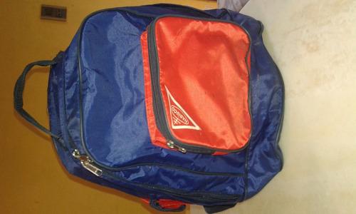mochila escolar espalda