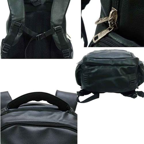 mochila escolar esporte couro sintetico kvn notebook 14'