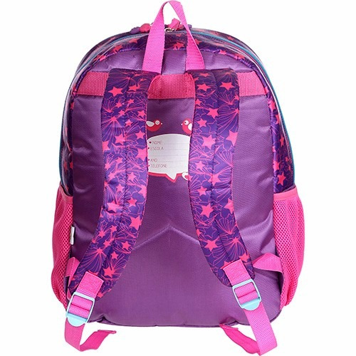 mochila escolar feminina chiquititas brilhar 942c04 pacific