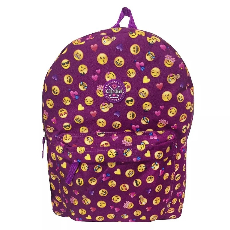 6c0e901c9 mochila escolar feminina clio emoji emoticons promoção. Carregando zoom.