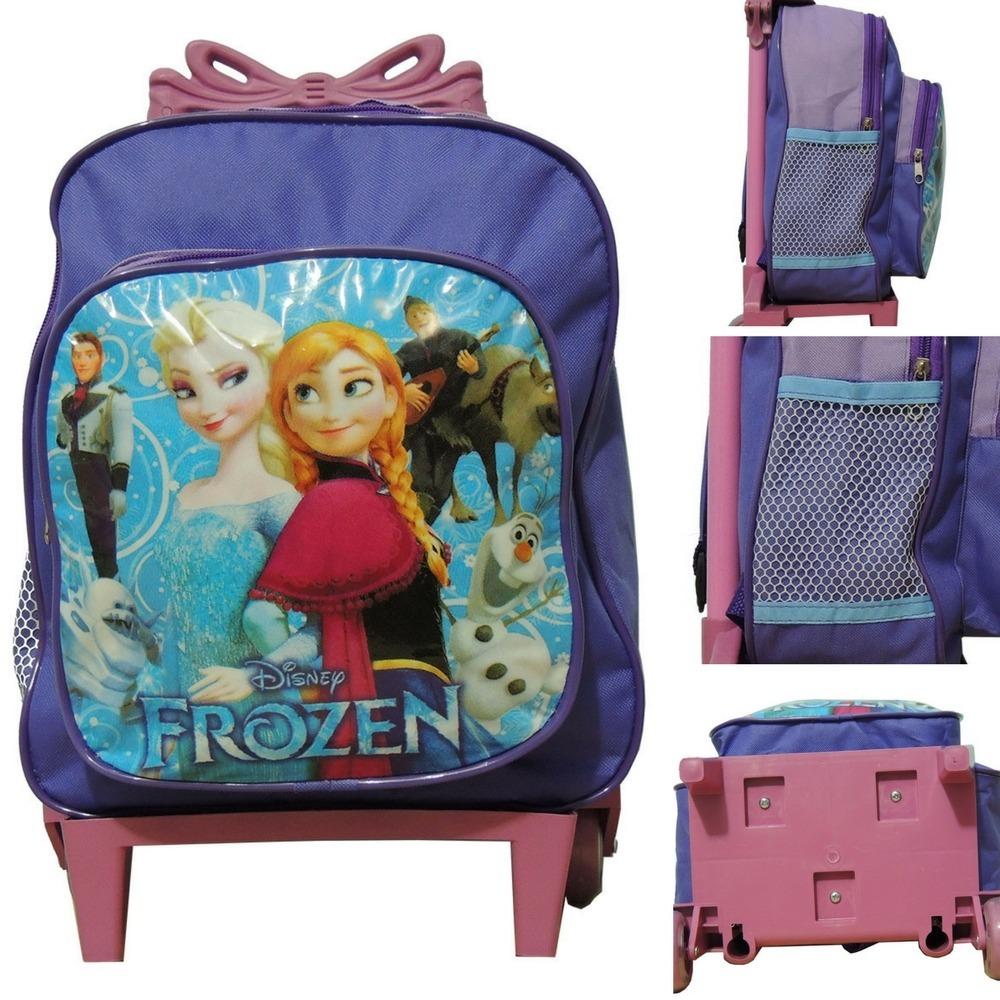 8abd9e1db mochila escolar feminina infantil frozen elsa e anna princes. Carregando  zoom.