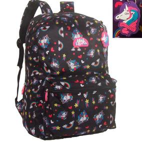 9242f8154 Mochila Unicornio Juvenil - Mochilas Escolar no Mercado Livre Brasil