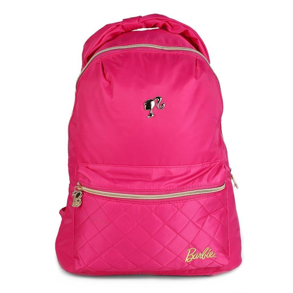 88474f119 Mochila Escolar Grande Barbie - Luxcel (rosa) - R$ 119,05 em Mercado ...