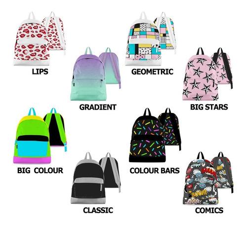 mochila escolar grande para adolescentes urbana espalda colegio comics fanpack cuotas sin interés