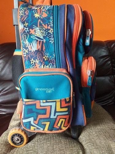 mochila escolar gremond 26 litros usada