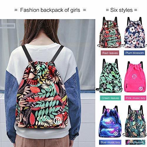mochila escolar horsky anime luminosa bolsa de hombro ligera