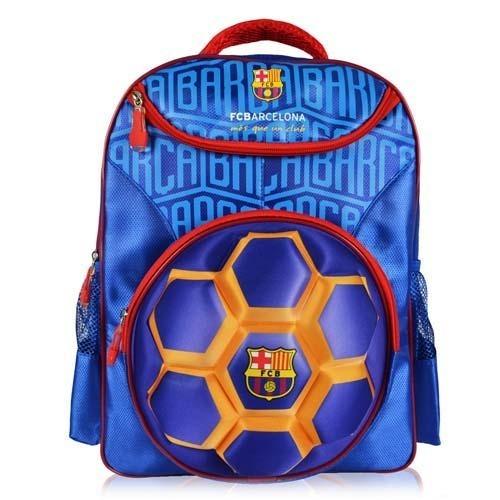 de6cf05a9 Mochila Escolar Infantil Barcelona Bola 3d Time De Futebol - R$ 189,49 em  Mercado Livre