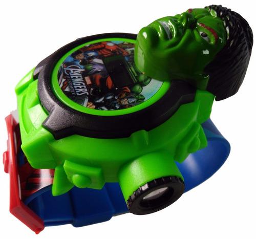 mochila escolar infantil c rodinhas hulk baby tam p relógio