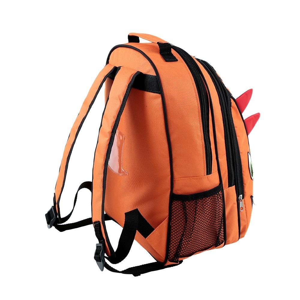 741352505 mochila escolar infantil dinossauro forrada laranja mumagi. Carregando zoom.