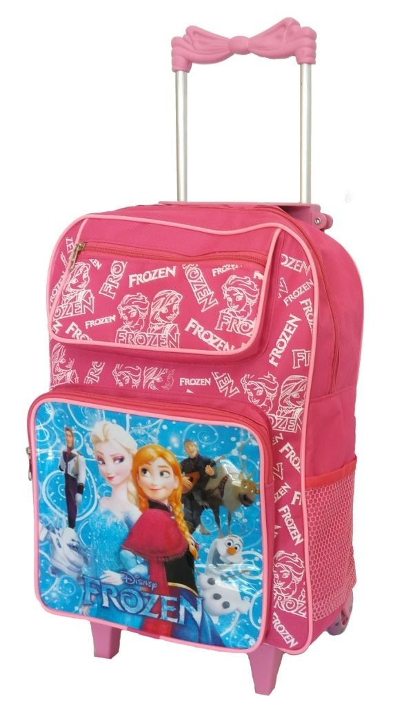 2e900bd5e mochila escolar infantil feminina frozen grande meninas rosa. Carregando  zoom.