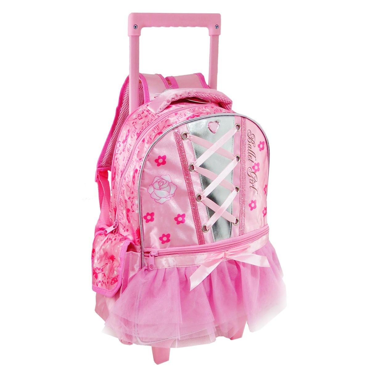 Bolsa Escolar Infantil Feminina Mercado Livre : Mochila escolar infantil feminina princesas com rodinhas