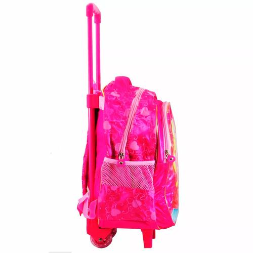 Bolsa Escolar Infantil Feminina Mercado Livre : Mochila escolar infantil feminina rodinhas rosa r
