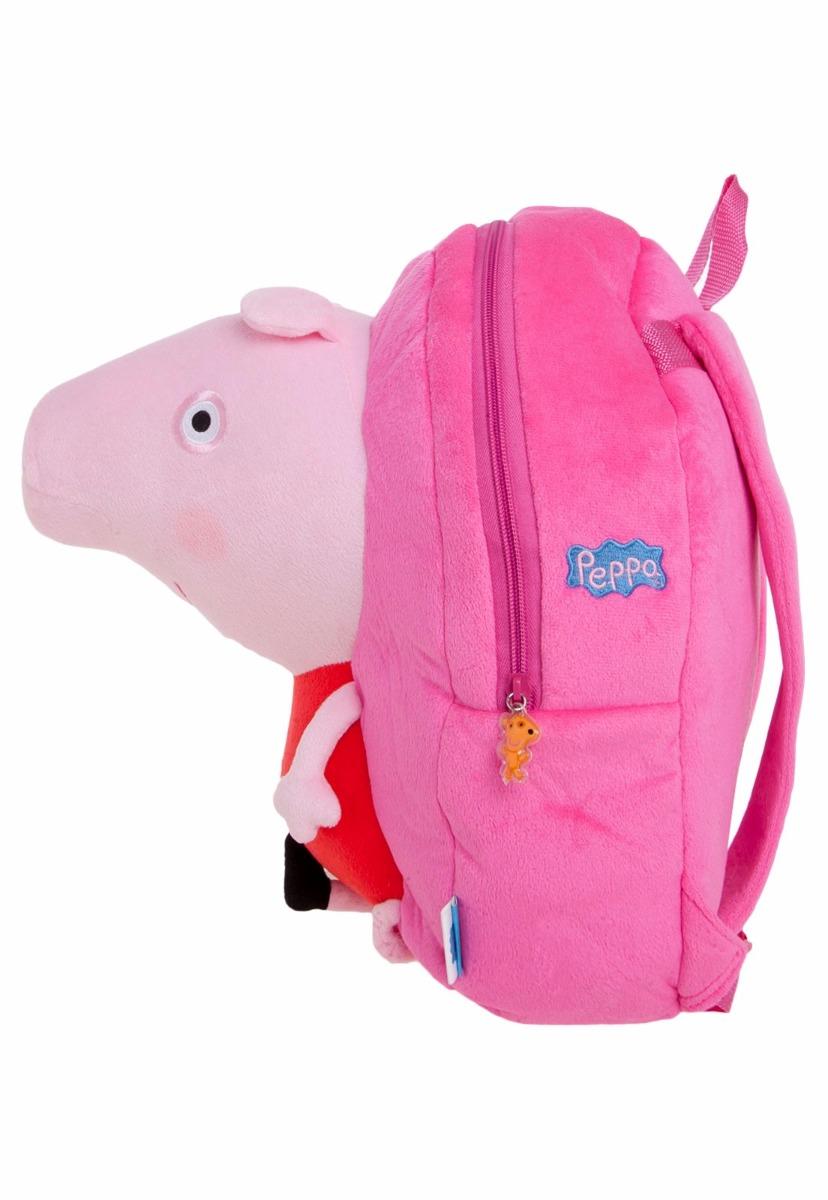 5af9f5a42 mochila escolar infantil m xeryus de costas peppa pig rosa. Carregando zoom.