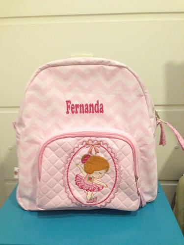 mochila escolar infantil personalizada
