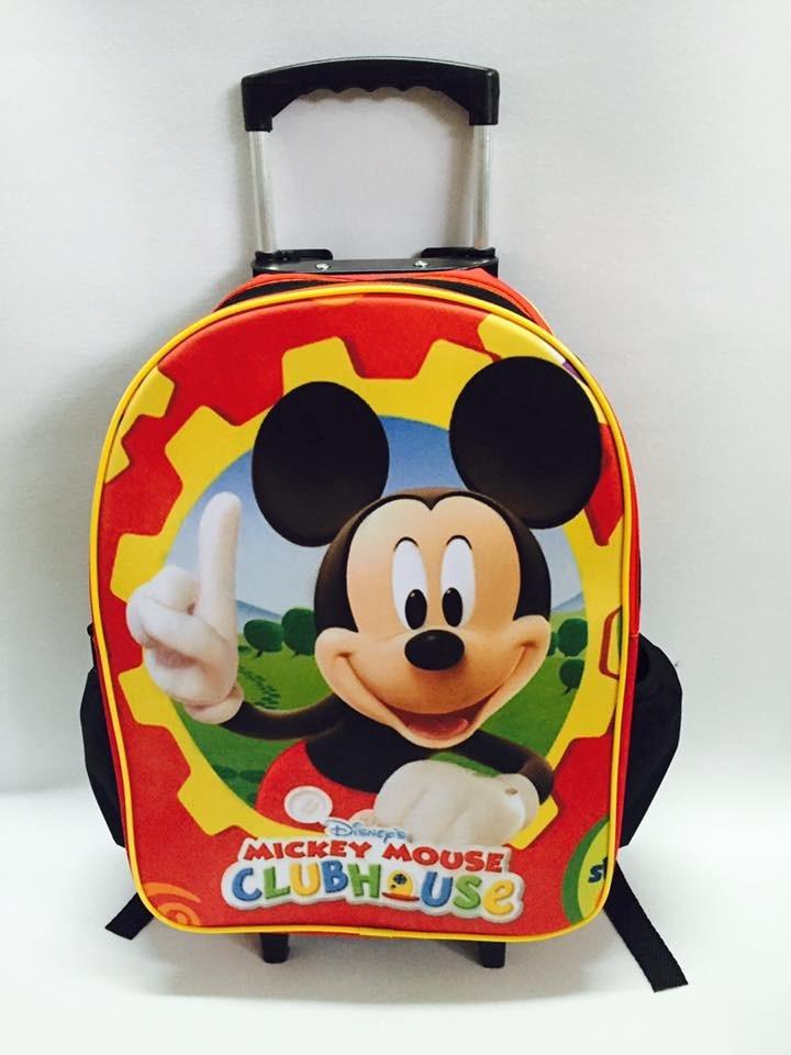 59696af52 mochila escolar infantil rodinha costa mickey mouse promoção. Carregando  zoom.