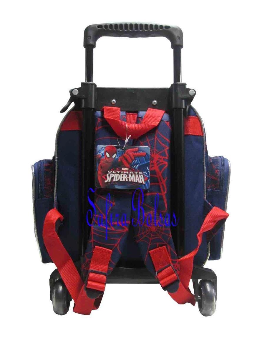 Bolsa De Rodinha Infantil Pequena : Mochila escolar infantil rodinha homem aranha pequena