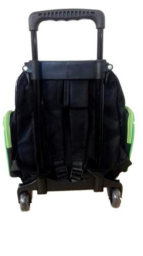mochila escolar infantil rodinha hulk mascara baby (tam p)