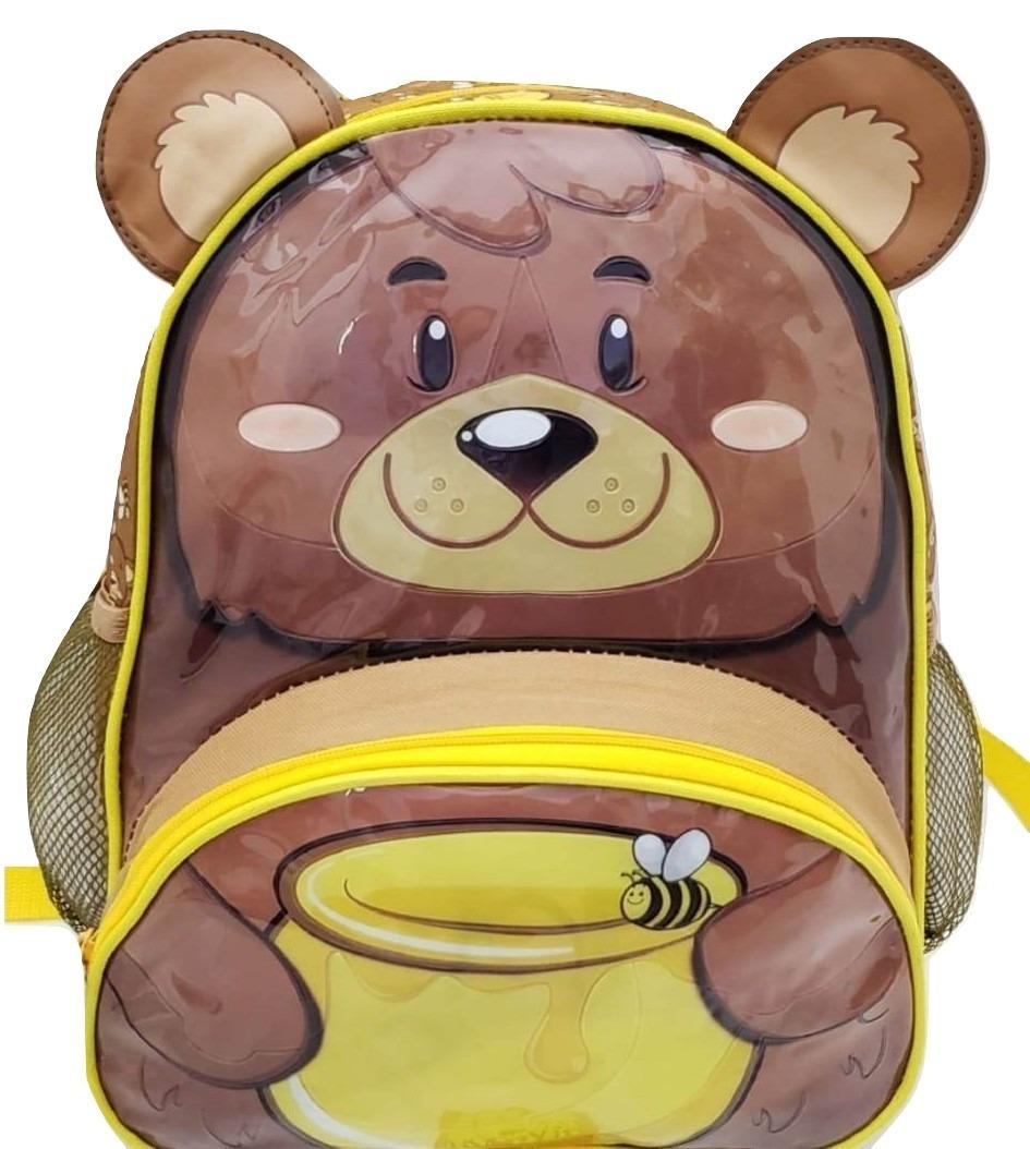 0dd1717d4 Mochila Escolar Infantil Urso Ursinho Macaco Macaquinho - R$ 59,90 em  Mercado Livre