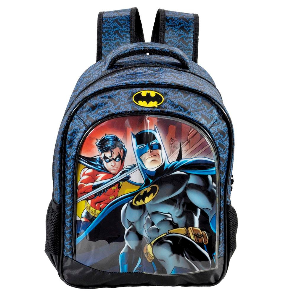 22f25def2 Mochila Escolar Infantil Xeryus Costas Batman Gotham 5402 - R$ 129 ...