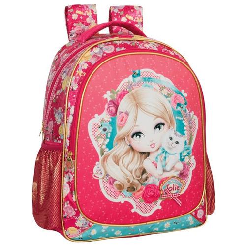 mochila escolar jolie loira tilibra 148504