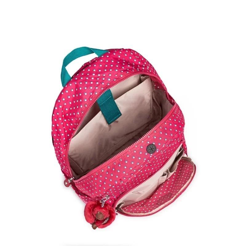 1b1f3d906 Mochila Escolar Carmine Rosa Pink Summer Pop Kipling - R$ 599,00 em ...