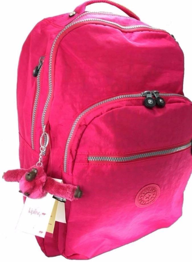 04f2f00e3 Mochila Escolar Kipling Rosa Pink - R$ 279,00 em Mercado Livre