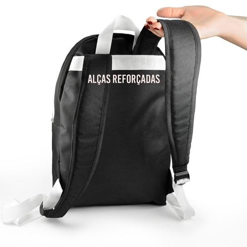 mochila escolar kpop + estojo + chaveiro bts wings
