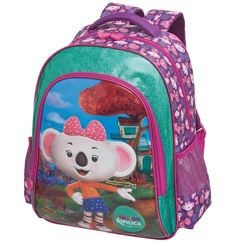45154ca173 mochila escolar lilica ripilica 2019 promoção rosa menina. Carregando zoom.