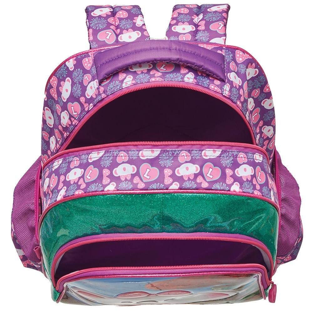 e254f84301929 mochila escolar lilica ripilica 2019 promoção rosa menina. Carregando zoom.