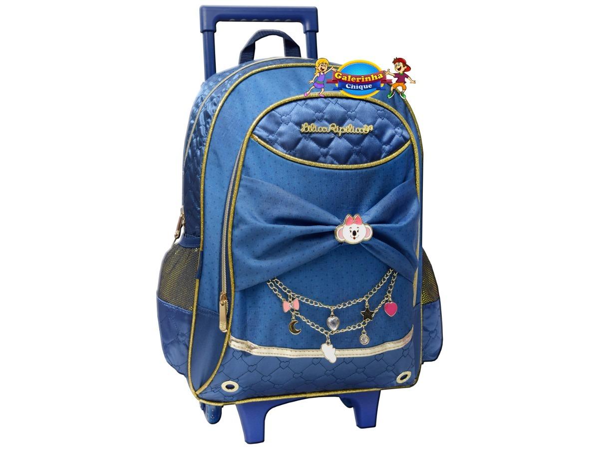 mochila escolar lilica ripilica gde glam com rodinhas 2018. Carregando zoom. 5e6d916c0f