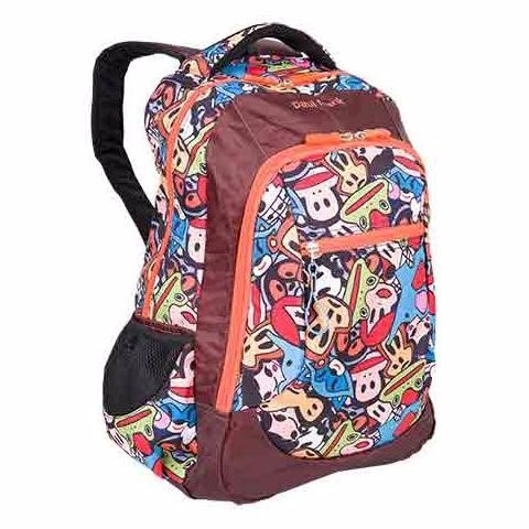 mochila escolar macaquinho paul frank julius 2020