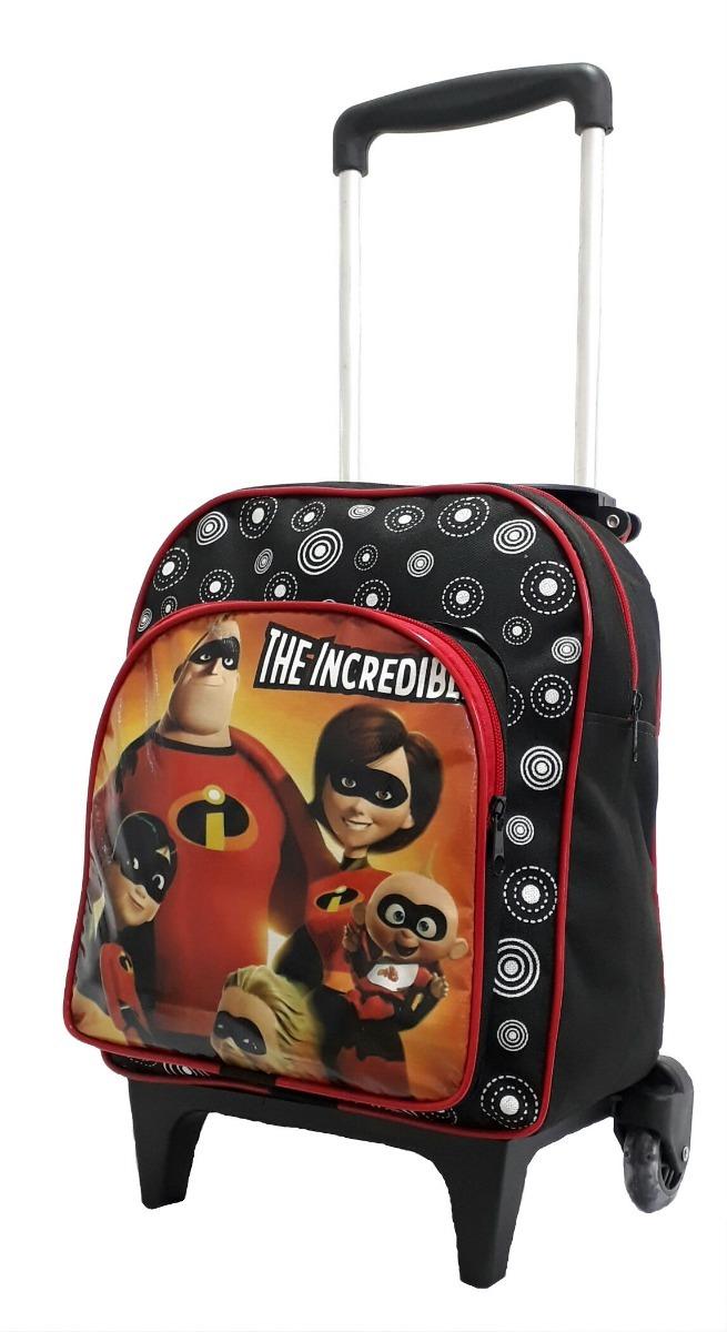 1cee368a9 mochila escolar masculina infantil os incriveis com rodinhas. Carregando  zoom.