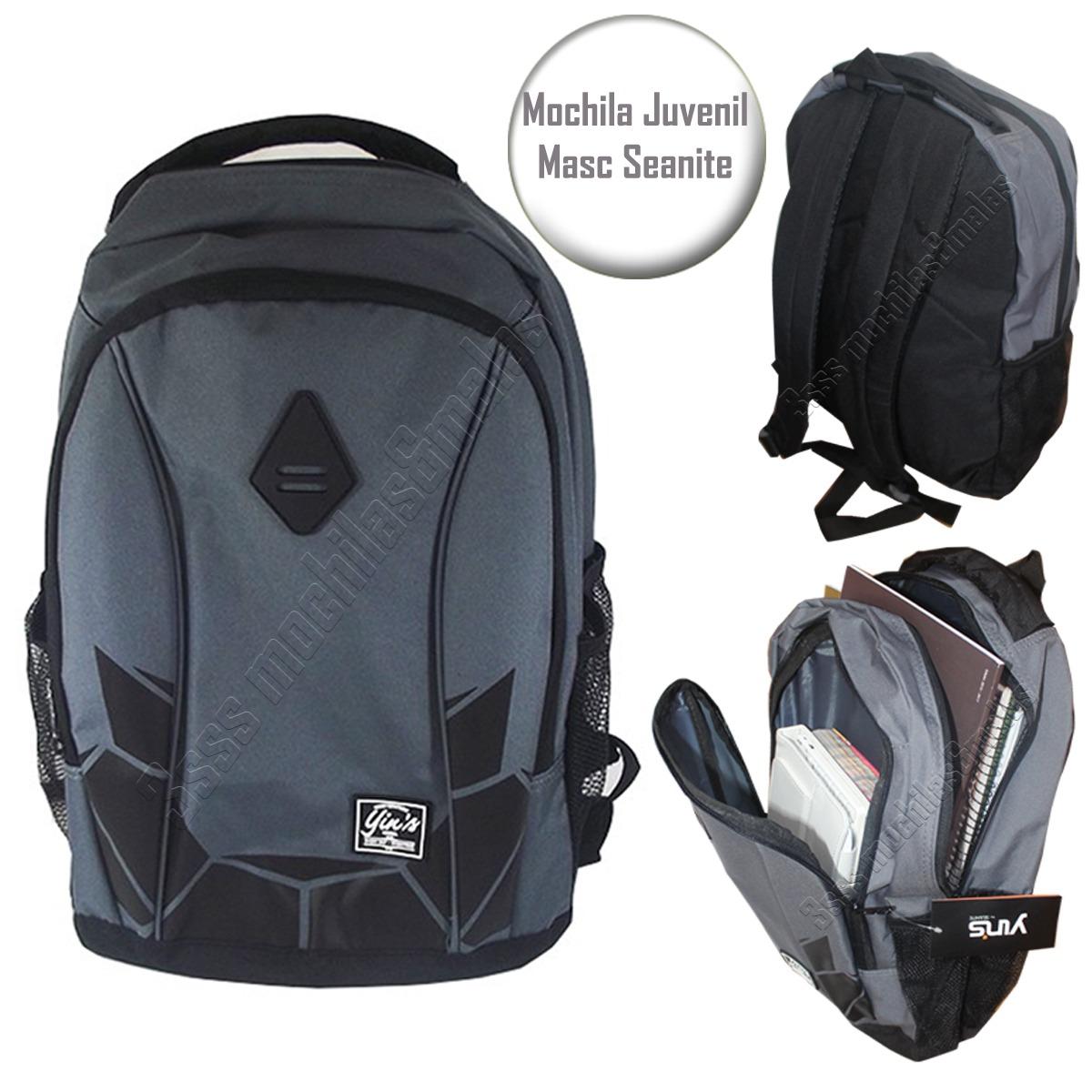 b287928813 mochila escolar masculina juvenil seanite original mj13060. Carregando zoom.