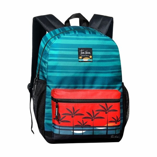 mochila escolar masculina tom veiga original clio